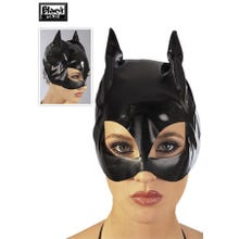 Lack Cat-Mask schwarz S-L