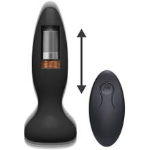13,3 x 3,6 cm Doc Johnson - A-Play - Thrust - Adventurous - Rechargeable Anal Plug black -Akku Power