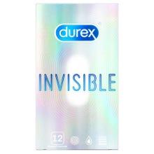 DUREX Invisible Kondome extra dünn 12 Stk.