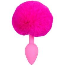 13 x 2,8 cm Plug Colorful Joy Bunny Tail Plug pink