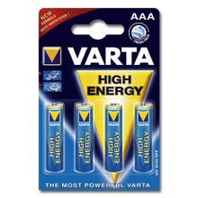 Varta High Energy Micro-Batterien 4er Pack