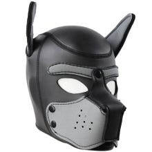 HardcoreDeLuxe Neoprene Puppy Hood grey