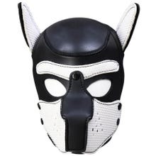 HardcoreDeLuxe Neoprene Puppy Hood white