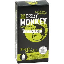 The Crazy Monkey Condoms Fresh-Mint 12 St.