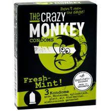 The Crazy Monkey Condoms Fresh-Mint 3 St.