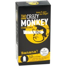 The Crazy Monkey Condoms Banana 12 St.