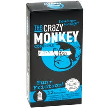 The Crazy Monkey Condoms Fun and Friction 12 St.