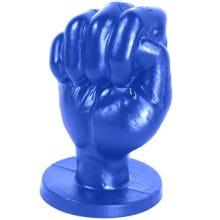 12,6 x 7,6 cm FAT TONY Fistplug Franz S blue