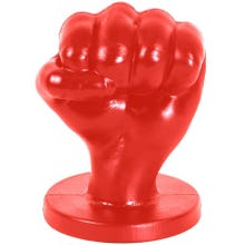 17,5 x 13 cm FAT TONY Fistplug Franz L red