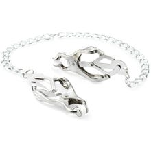 Zenn Japanese Large Clover Clamps with Chain silver - AKTIONSPREIS