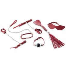 Zenn 9 Piece Beginners Bondage Set red | SUPERSALE