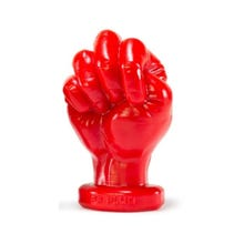 15,5 x 9,5 Oxballs Fisting Fist Plug Nr. 2 Silicone red