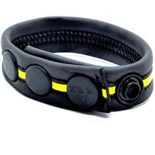 Neoprene Racer Gun Strap black/yellow