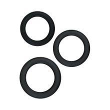 Cockring Set - Renegade - Diversity Rings black