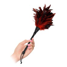 Fetish Fantasy Frisky Feather Duster red - Federpuschel