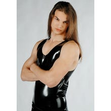 Latex Top Herren lang