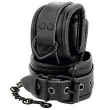 Darkness Leather Wrist Restraints black