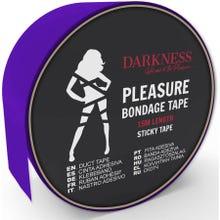 Darkness Sticky Tape 15m purple