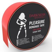 Darkness Sticky Tape 15m red