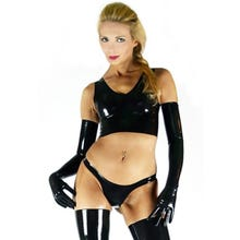 Latex Top Fetisso Cup