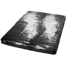 Soft Lack-Laken schwarz 200x230 cm