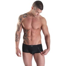 Herren Pants LookMe Open Heart schwarz