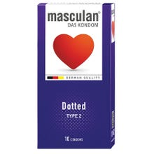 Masculan Kondome Typ2 - genoppt 10 Stk.