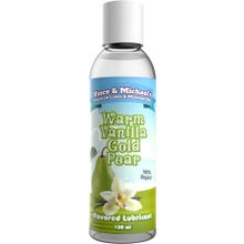 Vince and Michaels Warm Vanilla Gold Pear Flavored Lubricant 150ml