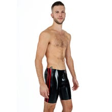 Rubber Shorts OPEN black/red