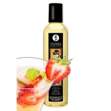 SHUNGA 250 ml Massageöl Romance Erdbeere & Champagner