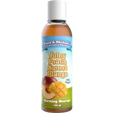 Vince and Michaels Warming Massagelotion Juicy Peach Sweet Mango Flavored 150ml