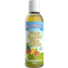 Vince and Michaels Warming Massagelotion Fizzy Tropical Wine Delight Flavored 150ml