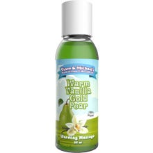 Vince and Michaels Warming Massagelotion Warm Vanilla Gold Pear Flavored 50ml