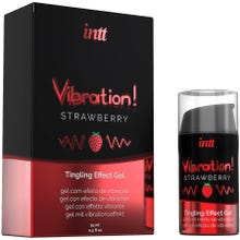 intt - Vibration! Tingling Effect Gel Strawberry 15ml