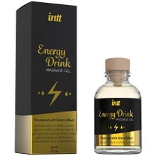 intt - Massage Gel Energy Drink - Flavoured with Warm Effect 30ml