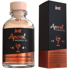 intt - Massage Gel Aperol - Flavoured with Warm Effect 30ml
