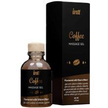 intt - Massage Gel Coffee - Flavoured with Warm Effect 30ml