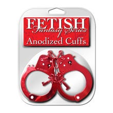 Fetish Fantasy - Cuffs Anodized red