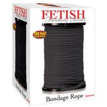 Fetish Fantasy - Bondage Rope 61 Meter black