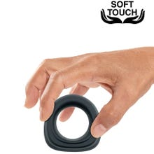 Mr. Cock Trapeze Silicone Cockring black