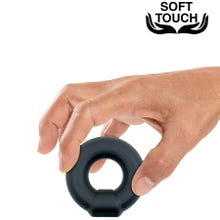 Mr. Cock Diamond Silicone Cockring black