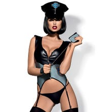 Obsessive Outfit Police Corsagen-Set Gr.S/M