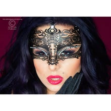 Mysterious Chilirose Mask No.XIII in schwarz