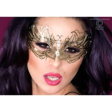Mysterious Chilirose Mask No.XIV in gold
