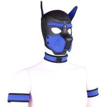 RudeRider Neoprene Puppy Hood blue