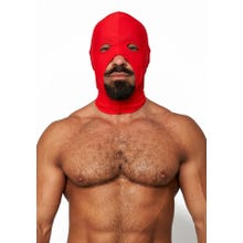 HardcoreDeLuxe LYCRA Maske Cocksucker red Gr.S-L