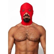 HardcoreDeLuxe LYCRA Maske Cocksucker red Gr.S-L