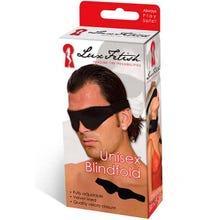LUX FETISH - Unisex Blindfold black