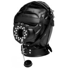 STRICT - Sensory Deprivation Hood - Maske mit Stöpsel
