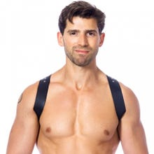 Rimba Bodyharness Schultergurt mit Schnallen schwarz